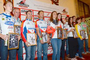 Siegerehrung Centurion Challenge 2014 (Foto: Gerhard Reitbauer, radmarathon.at)