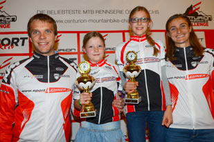 Familie Sommer - Challenge Schlussveranstaltung in Obertraun 2014 (Foto: Gerhard Reitbauer)