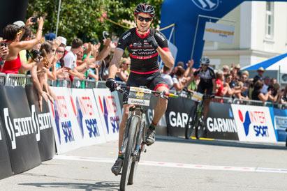 Andreas Seewald - Sieger Salzkammergut Mountainbike Trophy - Bad Goisern (Foto: Marc Schwarz)