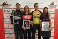 Gesamtsieger Centurion Challenge 2015:  Martin Gebeshuber, Sabine Sommer, Christoph Hochmüller, Agnes Kittel