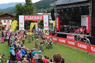 Kids Race bei der Bike Night Flachau (Foto: Anja Gleichweit)