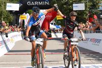 Barbara Mayer (AUT) und Sabine Sommer (AUT) - Sieger Salzkammergut Trophy 2018 - Strecke A (Foto: Gerhard Reitbauer)