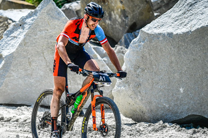 Christoph Soukup - Sieger Raiffeisen Granitmarathon Kleinzell 2019 (Foto: Sportograf)