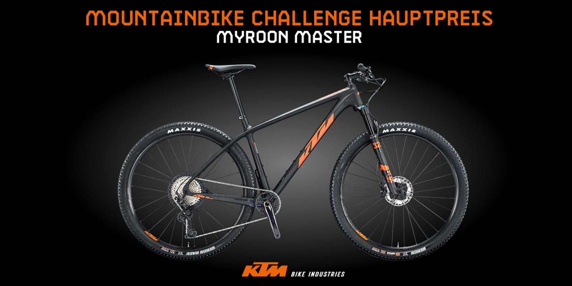 Challenge Hauptpreis 2020 KTM Myroon Master
