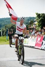 Europameisterin Theresia Kellermayr