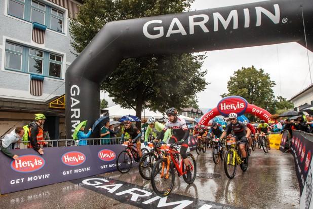 Start Strecke B Salzkammergut Trophy 2021 (Foto: Erwin Haiden)