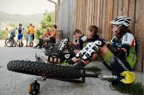 Die Muni-Cyclisten konnten sich bei Downhill und Marathon austoben.
